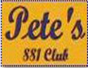 Pete's 881 Club California logo