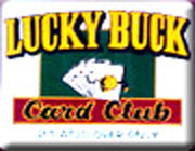 Lucky Buck Card Club California logo